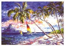 Educa Karibi tengerpart 2000 db-os (12453)
