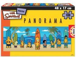 Educa Simpson család - panoráma 100 db-os (13482)