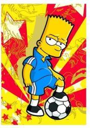 Educa Simpson család - Bart, a focista 500 db-os (14157)