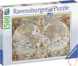 Ravensburger Történelmi világtérkép 1500 db-os (16381)