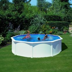 GRE Kit piscina rotunda, structura si pereti metalici - 350x120cm (KIT350)