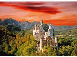 Trefl A Neuschwanstein-i kastély 2000 db-os (27050)