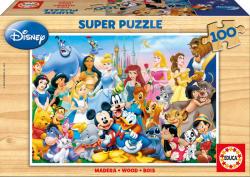 Educa Disney csodálatos világa 100 db-os fa puzzle (12002)