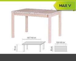 Meblohand MAX V étkezőasztal
