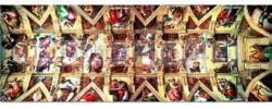 Educa Sixtusi kápolna - panorama 1000 db-os (13793)
