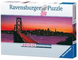 Ravensburger Panoráma puzzle - A Golden Gate-híd 1000 db-os (15104)