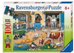 Ravensburger Állatok a tanyán 100 db-os (10743)
