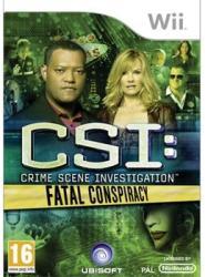 Ubisoft CSI: Crime Scene Investigation Fatal Conspiracy (Wii)