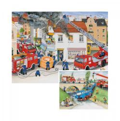 Ravensburger Munka a tűzoltókkal 2x20 db-os (08909)