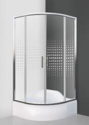 Roltechnik BUFFALO NEO/900 90x90x165 cm íves (N0661)
