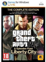 Rockstar Games Grand Theft Auto IV Episodes from Liberty City [The Complete Edition] (PC)
