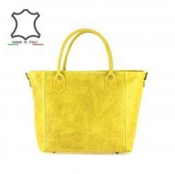 13 100 Ft Made in Italy Mintás olasz bőrtáska Debora - sárga de3727f82b