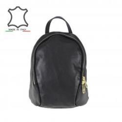 17 100 Ft Made in Italy Olasz bőr hátitáska Nerea - fekete ddd2b7f9a7