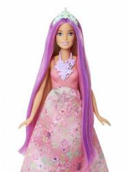 Mattel Papusa Mattel Barbie Printesa Parul fara sfarsit (DWH41-DWH42)