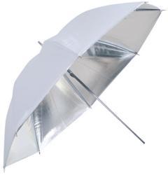 Falcon eyes Umbrella UR-60S Silver/White 152 cm