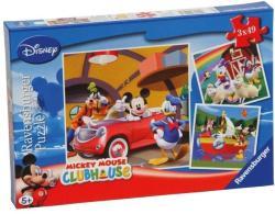 Ravensburger Mickey egér 3x49 db-os (90924)