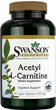 Swanson Acetyl L-Carnitine 500mg 100cps Swanson