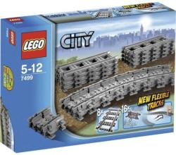 LEGO City - Rugalmas sínek (7499)