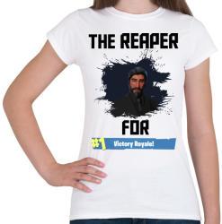 printfashion The Reaper - Női póló - Fehér