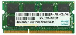 Apacer 4GB DDR3 1600MHz DS.04G2K.HAM