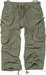 Brandit Vintage Industry pantaloni scurți 3/4, oliv