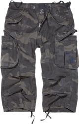 Brandit Vintage Industry pantaloni scurți 3/4, darkcamo