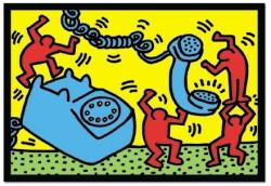 Educa Keith Haring: Figures with telephone 500 db-os (12762)