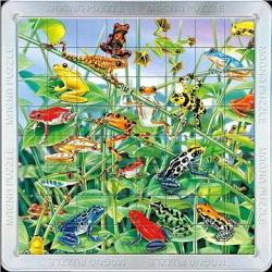 Piatnik 3D Mágneses Puzzle - Békák 16 db-os