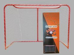 Capetan Floorball kapu verseny méret 160x110x65/34 cm, gyakorló kivitel fém porszórt felület hálóval, hálóta - tacticsport