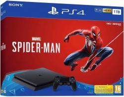 Sony PlayStation 4 Slim 1TB (PS4 Slim 1TB) + Marvel Spider-Man