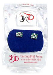 Specials Special Earrings Flat 45S Emerald