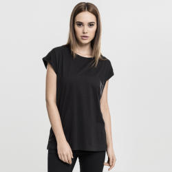 Urban Classics Póló Urban Classics Ladies Extended Shoulder Tee black