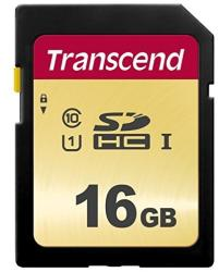 Transcend MLC 16GB U1 UHS-I TS16GSDC500S