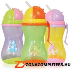 Baby Care Szívószálas Sport Itató 250 ml
