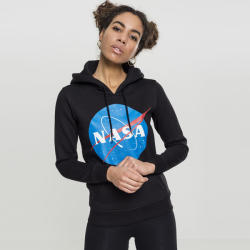 Mr. Tee Ladies NASA Insignia Hoody black