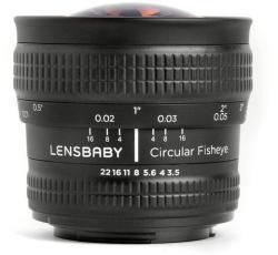 Lensbaby Circular Fisheye 5.8mm f/3.5 (Sony E)
