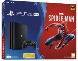 Sony PlayStation 4 Pro 1TB (PS4 Pro 1TB) + Marvel Spider-Man