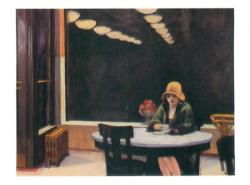Educa Edward Hopper: Automat - 1927 500 db-os (12938)