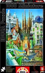 Educa Kollázs - Gaudi sorozat 1000 db-os (11874)