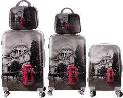 ABS Telephone - 5 részes bőrönd szett (LC-036)