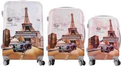 ABS Paris - 3 részes bőrönd szett (LC-048)