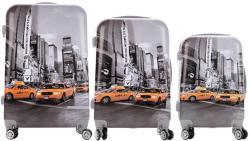 ABS Taxi - 3 részes bőrönd szett (LC-038)