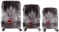 ABS London - 3 részes bőrönd szett (LC-062)