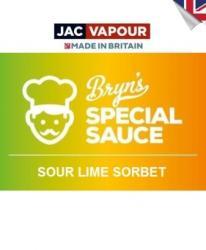 Jac Vapour Lichid Tigara Electronica Premium Jac Vapour Bryn's Special Sauce Sour Lime Sorbet 50ml, Fara Nicotina, 80VG 20PG, Shortfill 60ml