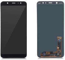 NBA001LCD003146 Gyári Samsung Galaxy A6 Plus (2018) A605/J805 fekete LCD kijelző érintővel