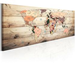 Artgeist Kép - falitérkép - World Maps: Map of Dreams Világtérkép 150x50