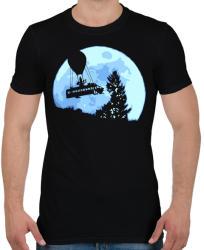 printfashion Fortnite Battle Bus - Férfi póló - Fekete
