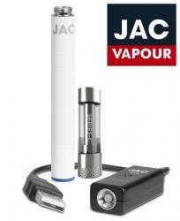 Jac Vapour Kit Tigareta Electronica cu Functionare Automata Jac Vapour V3i Black, 3 Rezistente Incluse, Tank Servisabil 1ml V4 Mini