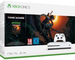 Microsoft Xbox One S (Slim) 1TB + Shadow of the Tomb Raider