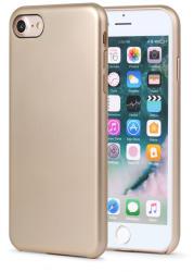 Meleovo Carcasa iPhone 8 Meleovo Pure Gear II Gold (culoare metalizata fina, interior piele intoarsa) (MLVPG2IPH8GD)
